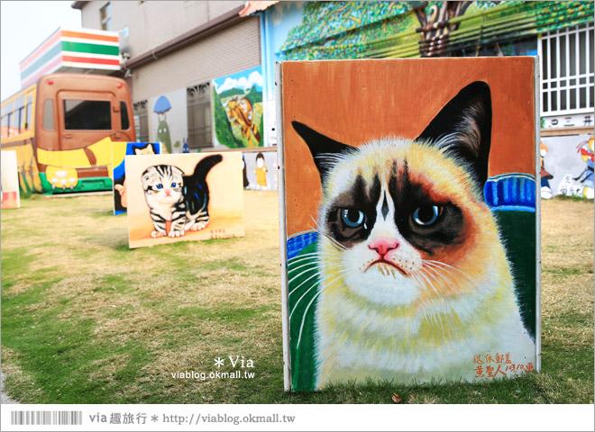 【西螺龍貓公車已變身為OPEN將彩繪公車】雲林也有龍貓出沒~來去龍貓公車站(三井站)拍照去!