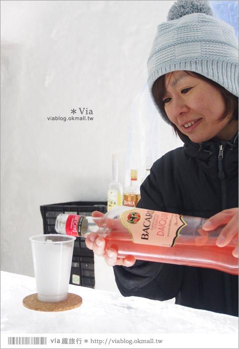 【北海道冬季景點】然別湖冰上村~山中小秘境‧冰上酒吧、冰屋、露天風呂好特別!