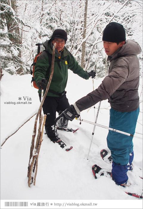 【北海道冬季玩法】美瑛|白金溫泉鄉~來去雪鞋體驗、漫步在白色森林中耍浪漫