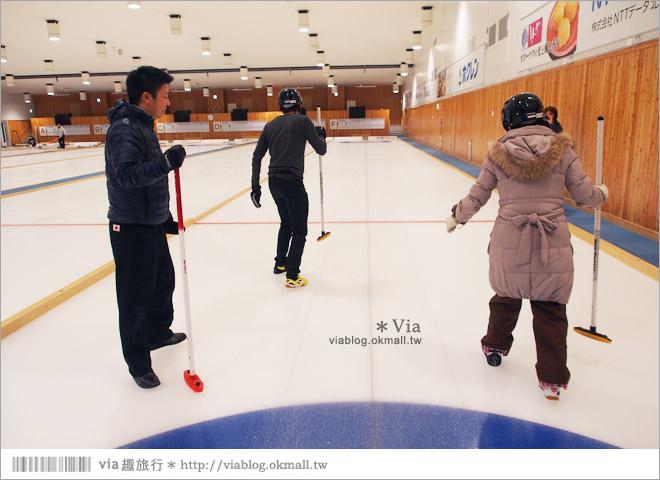 【北海道冬天旅遊】冰壺初體驗~全日本最大的室內冰壺場:北見常呂ADVICS冰壺場