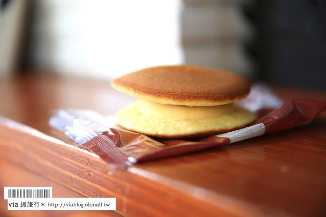 【九州湯布院必買】由布院美食必吃~B-SPEAK蛋糕捲、金賞可樂餅、花麴菊家布丁銅鑼燒