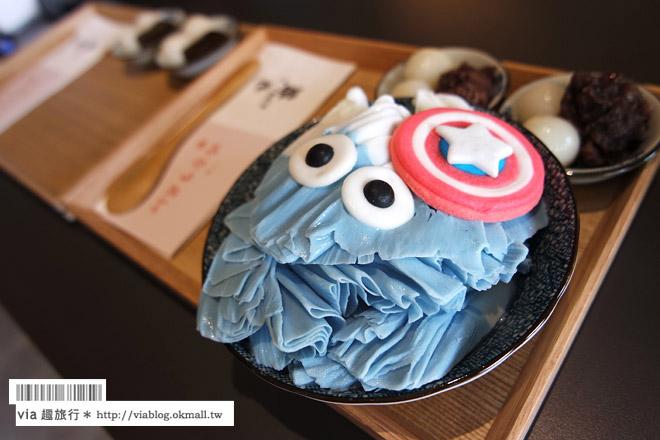 【台中冰店推薦】路地氷の怪物~大人氣「怪物冰」登場!造型可愛又好吃的雪花冰
