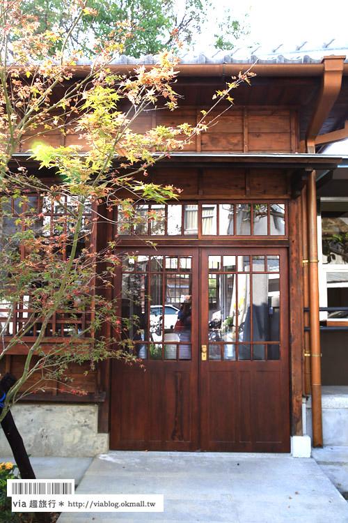 【台中文學館】最新台中旅點~舊日式警察宿舍改造的藝文園區散策去!