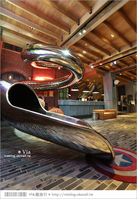 【台中飯店推薦】紅點文旅飯店~號稱地表上最潮的旅店!超大溜滑梯超吸睛!