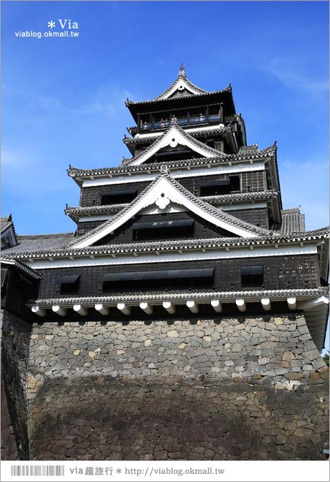 【熊本旅遊景點】熊本城~擁有四百多年歷史的日本三大名城之一!來熊本必玩~