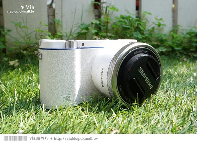 【微單眼相機推薦】2015新上市~SAMSUNG NX3300‧女子旅人的白系微單眼‧輕鮮登場