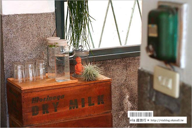 【彰化老屋咖啡】端倪生活咖啡館‧火車站旁的台鐵老宿舍~文青風格大變身!限量霜淇淋大好吃!