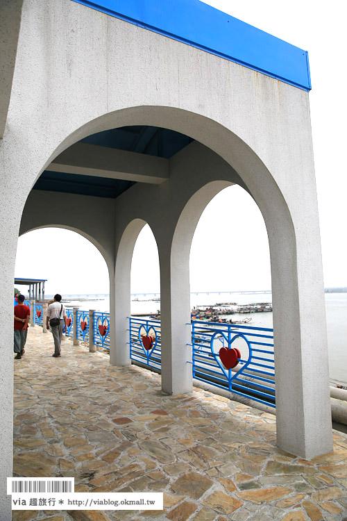 【台中景點】龍井麗水漁港~百年老港口換上希臘風新面貌