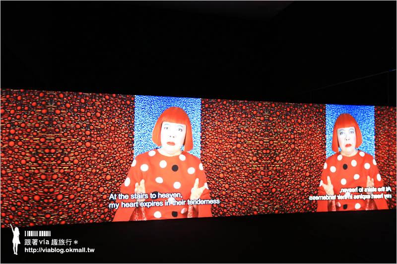 【草間彌生展覽2015台中】夢我所夢:草間彌生亞洲巡迴展台灣最終站~台中國美館見!