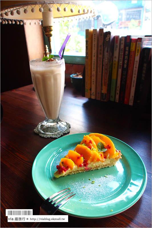 【嘉義下午茶推薦】屋子裡有甜點(已歇業)~老屋裡的美妙甜點!來一個甜蜜的懷舊下午茶時光