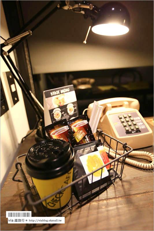 【台北平價住宿】台北旅館推薦~雀客旅店CHECK inn工業風旅館、捷運站出口即抵