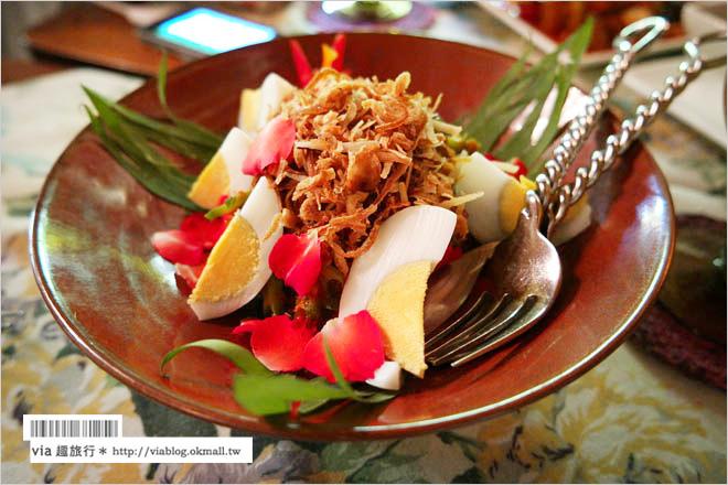 【曼谷素食餐廳】Na Aroon Restaurant~擁有幽悠環境的老屋餐廳!泰式有機蔬食好好吃!
