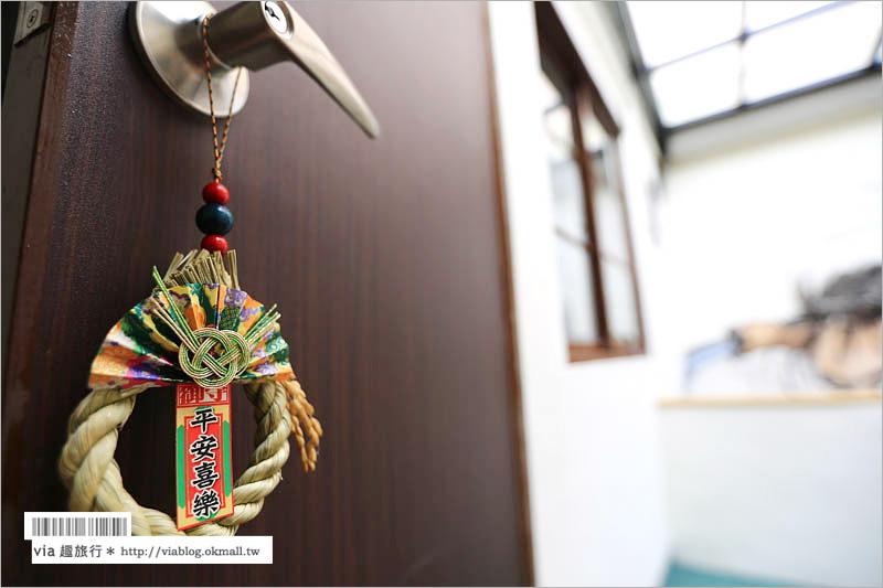 【台南民宿推薦】旅日人-松井家民宿~入住一晚日本!堅持現代日式風格的優雅民宿