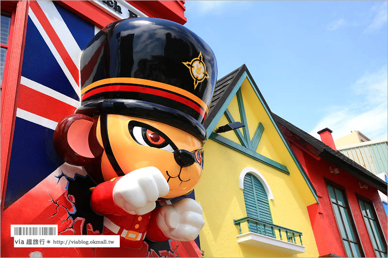 【台南景點推薦】安平彩色屋「Doga香酥脆椒專賣店」~像極國外的童話小屋!