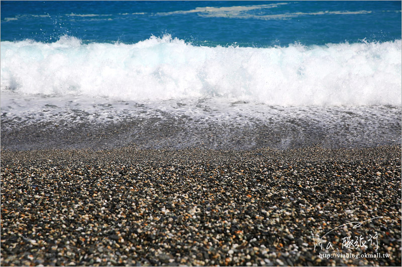 【花蓮七星潭風景區】七星潭海堤/蔚藍大海的月牙灣,迷人的海岸線再訪~依舊美好!