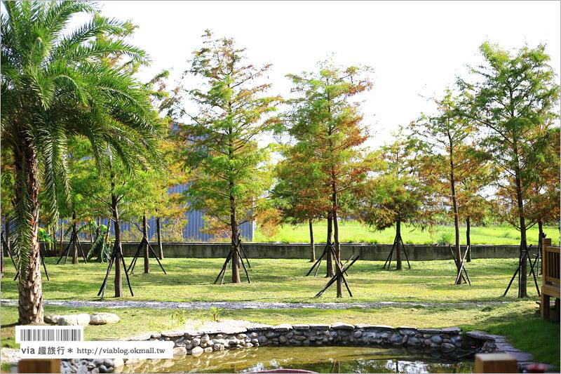 【花蓮民宿推薦】森林中民宿~美式風格的彩色小屋‧推薦給親子或好姐妹們的旅行!