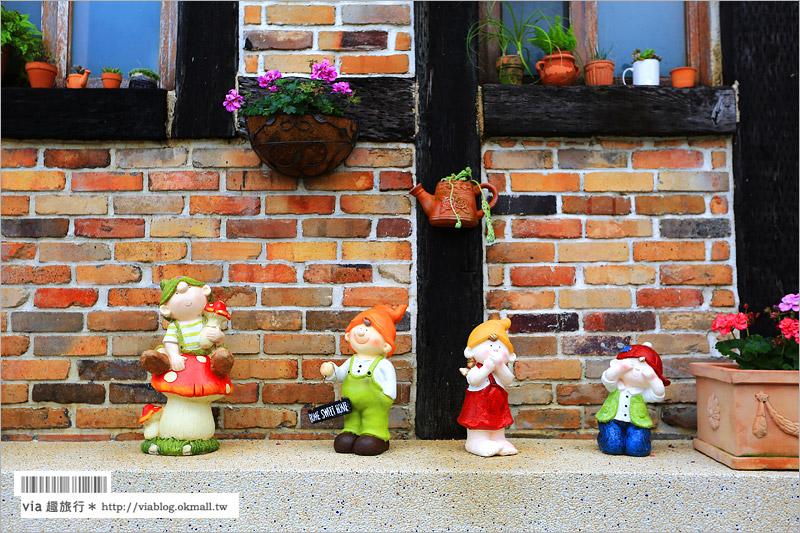 【南投下午茶】南投文心園花園咖啡館~南投咖啡館*歐風小屋浪漫又好拍!
