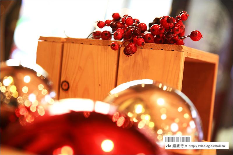 【台中勤美耶誕村】台中金典綠園道+勤美誠品~紅帽村VS白鬍村!紅白聖誕村熱鬧開鑼~