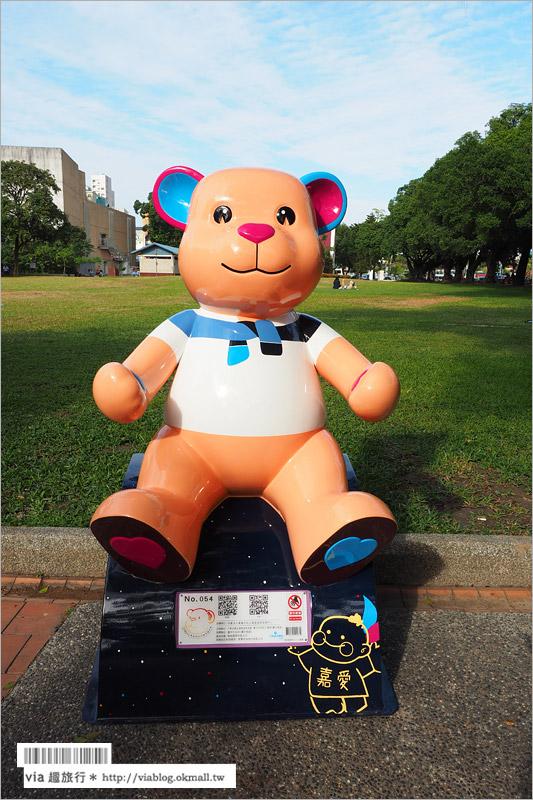 【台中泰迪熊嘉年華2015】台中公園可愛熊出沒~7公尺高大熊和百隻小熊陪你歡樂過冬!
