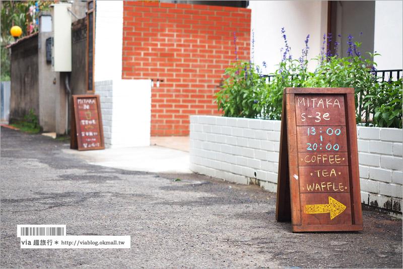 【台中咖啡館】Mitaka s-3e Cafe(台中小3e)~山上龍貓咖啡館,市區新點清新好迷人!