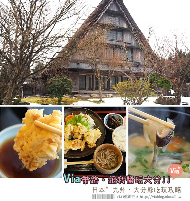 【九州自由行】九州大分景點~四日遊行程分享篇‧美食、溫泉、滑雪、野生動物園大好玩!
