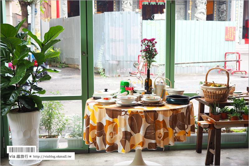 【台中早午餐推薦】明賢行早午餐餐廳‧雜貨店~復古老宅咖啡館大好拍,台式肉燥麵&刈包也能很文青!