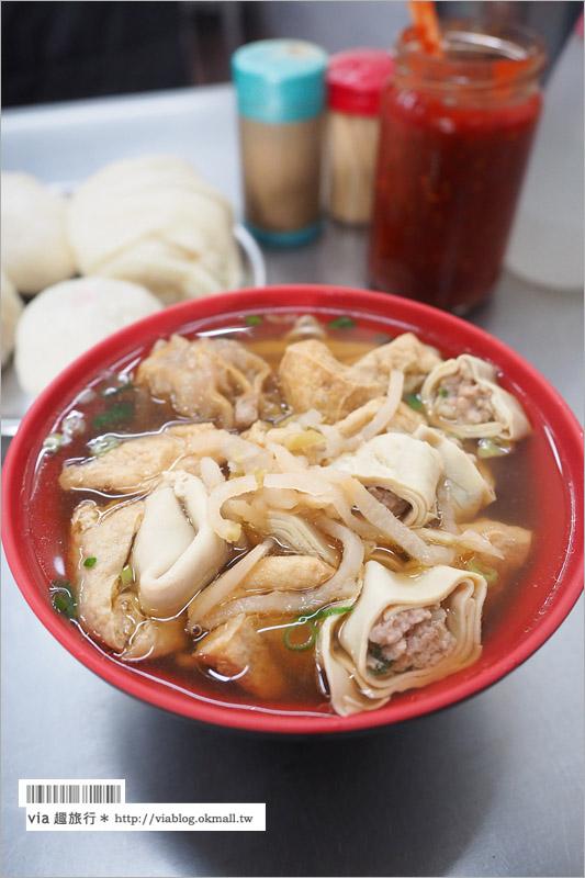 台中小吃推薦》台中自由路美食吃透透~上海點心包、董家蔥花大餅、瑞穗臭豆腐、呷八碗米糕、豆花大王