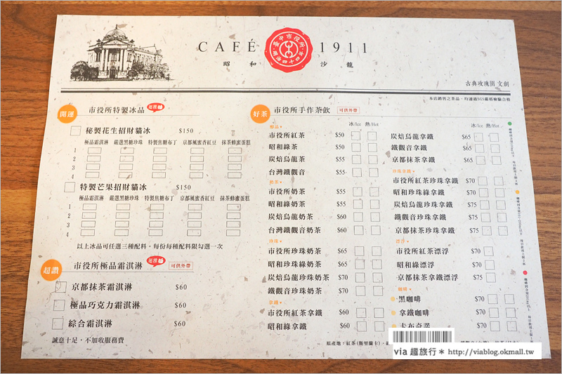 【台中餐廳推薦】台中市役所Café 911VS昭和沙龍~華麗變身!藝文X空間X美食的絕妙饗宴!