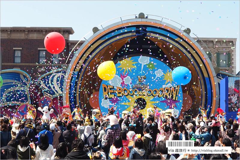 【日本環球影城攻略】下集─園區必看超歡樂遊行+15週年Re-born Party+小小兵特別秀