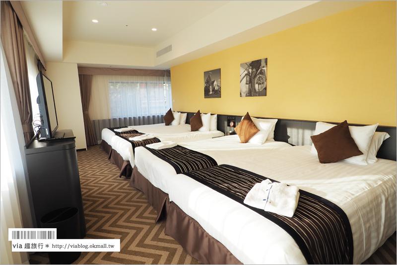 【大阪飯店】環球影城園前飯店~美式設計房型全記錄!豐富又美味的早餐時光~大幸福!
