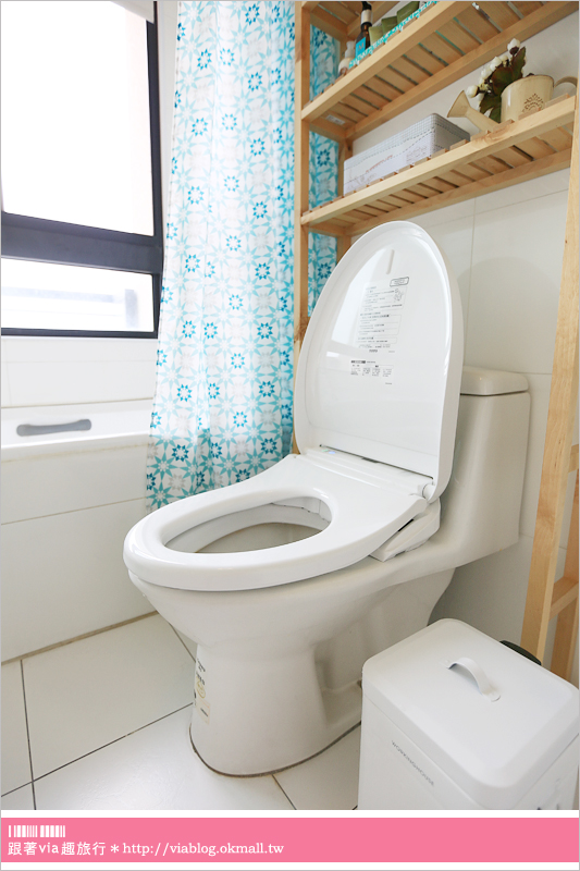 【免治馬桶推薦】Via家浴室改造+新伙伴加入:『TOTO-WASHLET免治馬桶』