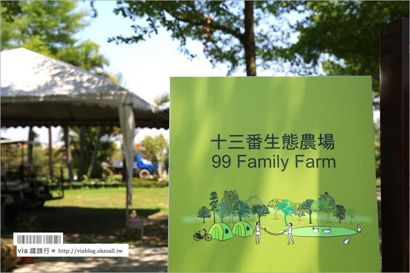 【雲林旅遊景點】九九莊園+十三番生態農場~適合帶孩子們出遊奔跑、露營的旅點!