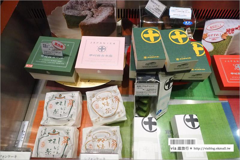 【京都甜點】中村藤吉抹茶(京都車站店) 傳承百年的茶香老舖,甘願排隊的人氣甜點美食!