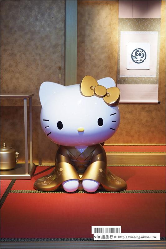 【京都Kitty茶寮】二年坂/Hello Kitty茶寮(はろうきてぃ茶寮)~粉絲朝聖!來去夢幻系茶屋吃甜點!