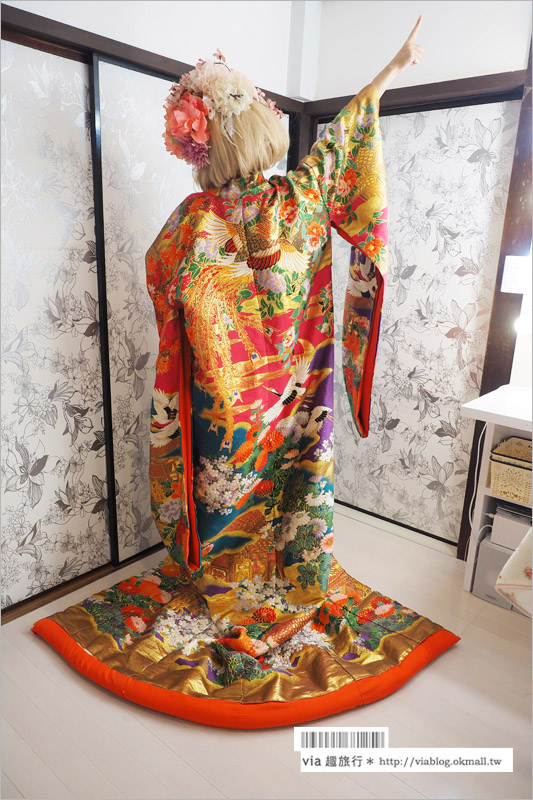 【KKday京都體驗活動】京都花魁體驗~穿膩和服?那麼來個不一樣的華麗變身花魁體驗吧!