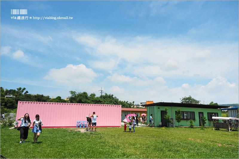 【台中景觀餐廳】好好小館/好好聚落~文創‧簡餐‧下午茶~彩虹貨櫃屋!女孩們拍照的好去處!
