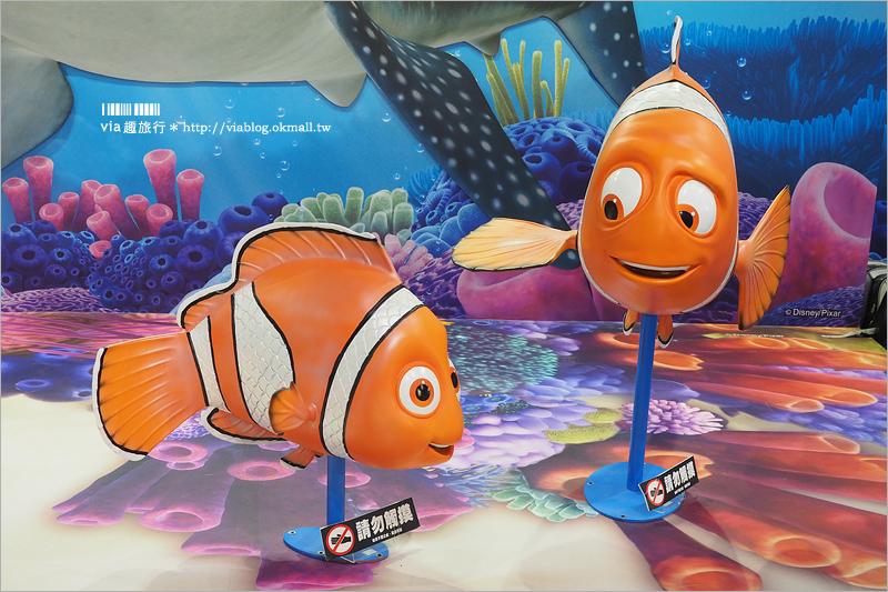 【台中新光三越】海底總動員2(展覽已結束):多莉去哪兒?迪士尼夏日快閃店~趕快來和多莉、尼莫合照趣!
