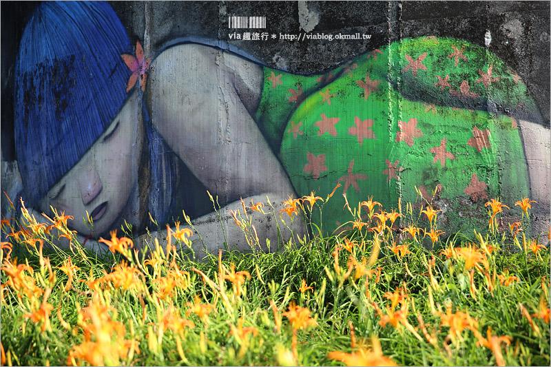 【花蓮金針花】六十石山金針花季~必拍:最高點觀景台、柒先生沉睡的女孩、金針花水池都爆滿盛開!