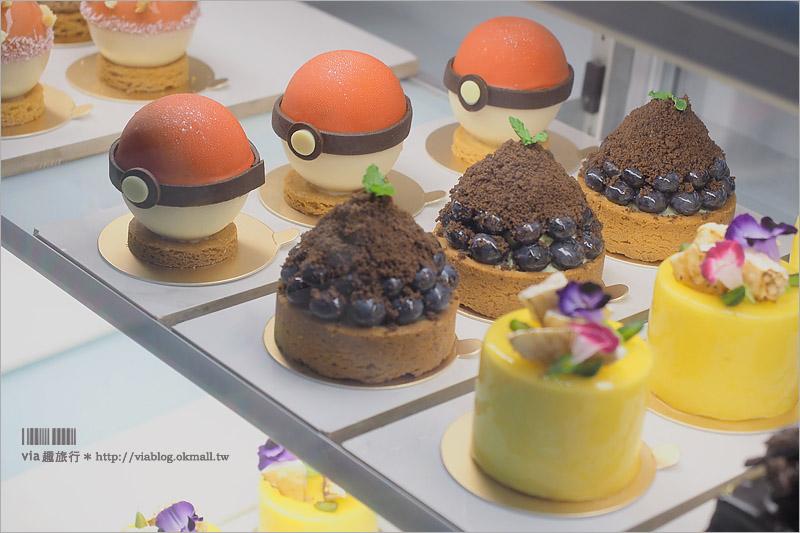 【台中寶可夢】台中小梗甜點~新推出寶貝球蛋糕好吸睛‧再訪小梗吃甜點去!