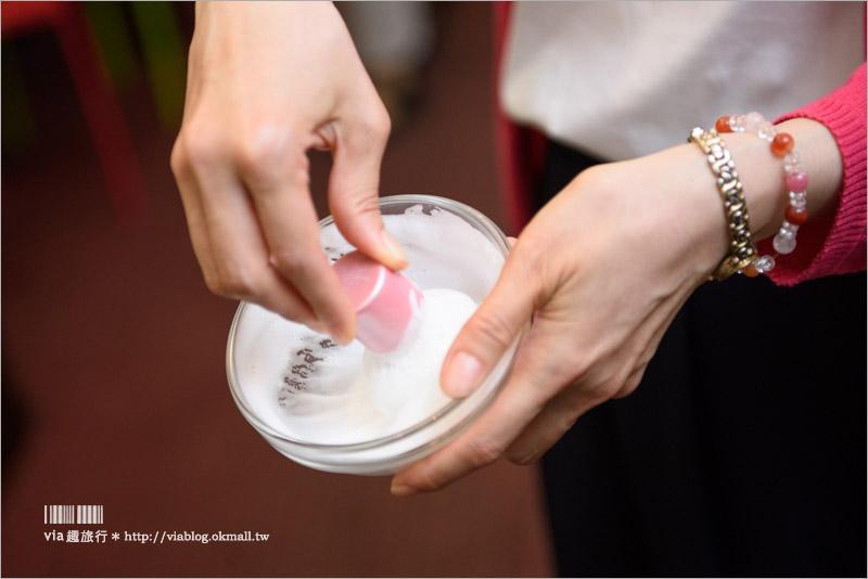 【京都伴手禮】粉嫩又實用的櫻花刷具好好看!送禮自用都很合適~六角館さくら堂KYOTO化妝品刷具專賣店