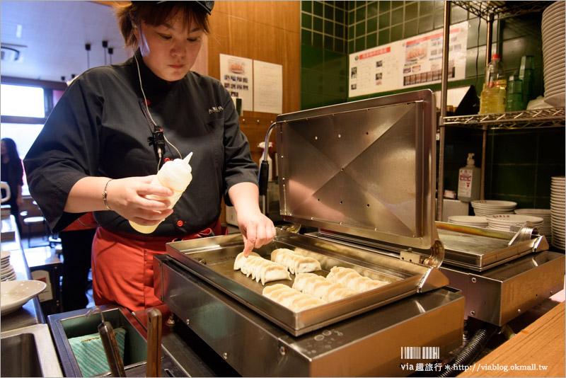 【大阪美食】道頓堀推薦美食~就吃這一味:「大阪王將餃子專門店」(道頓堀本店)