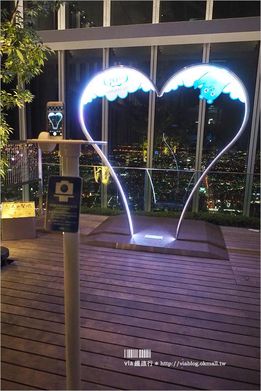 【大阪阿倍野HARUKAS】阿倍野展望台HARUKAS 300~360度無死角的大阪無敵美景!日夜雙景都超美!