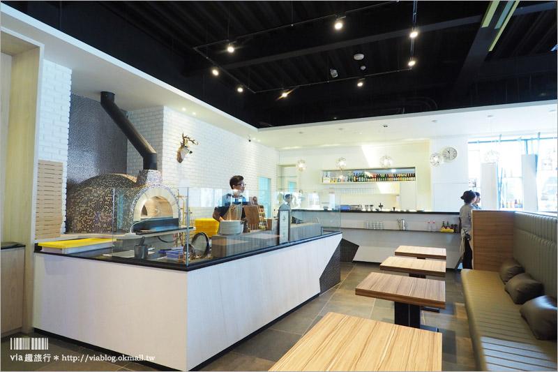 【台中聚餐餐廳推薦】卡索里拉義式餐廳~空間挑高舒適、帶著森林風的餐廳新選擇!