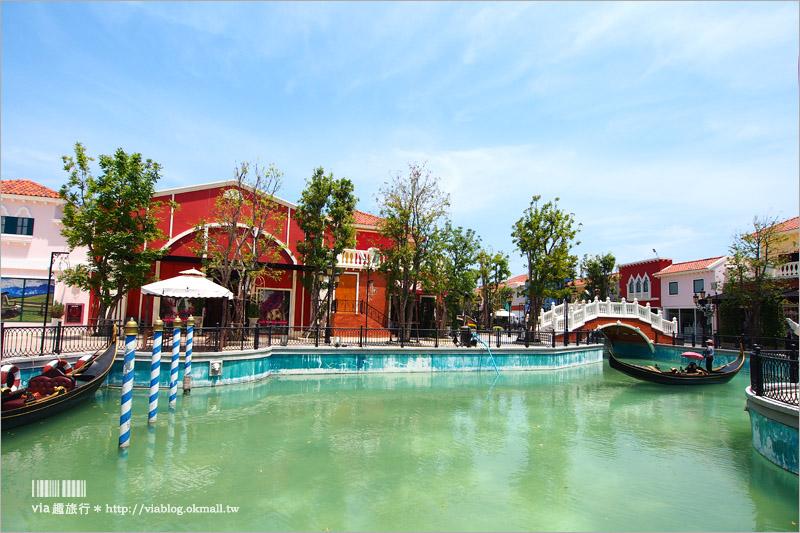 【泰國華欣景點】華欣小威尼斯The Venezia Hua Hin~玩瘋了!大好拍的歐式莊園!