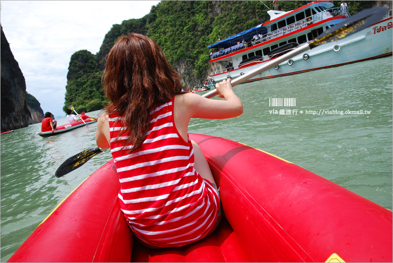 【泰國普吉島旅遊】Local Tour/出海吧~攀牙灣一日遊:007島賞景+獨木舟大冒險+海上美食吃到飽