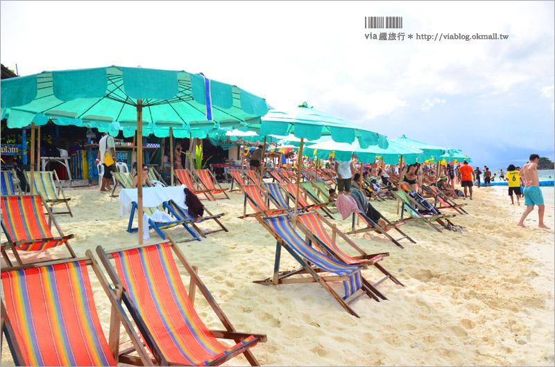 【泰國普吉島景點】PP島一日遊~搭船暢遊大、小PP島+雞蛋島~李奧納多的電影就在這裡取景!
