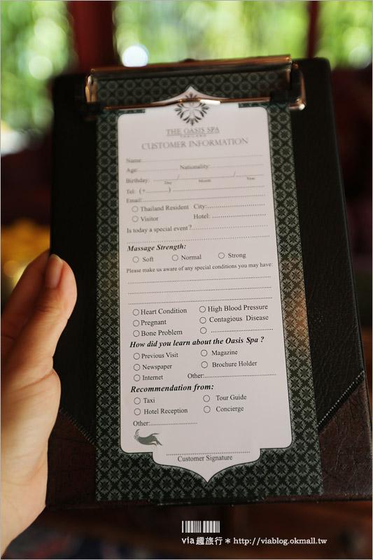 【泰國按摩推薦】曼谷SPA推薦~Oasis Spa Bangkok sukhumvit 51‧傳統泰式風格設計美翻了!