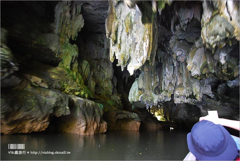 【喀比景點推薦】 Ao Thalane大頭鬼洞~乘船穿梭優美紅樹林、拜訪三千年前古壁畫!
