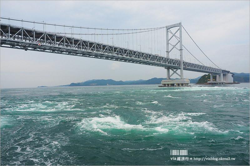 【日本旅遊】淡路島一日遊~明石海峽大橋、吹龍好有趣、世界最大海漩渦和超可愛海豚農場一次玩透透!