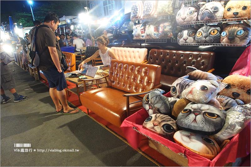 【曼谷夜市】拉差達火車夜市~地鐵可到好方便!龍蝦麵、大碗麵、大碗冰這裡通通有!
